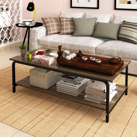 Iuhan 1 Meter Long Simple Assembly Small Apartment Tea Table Living Room Coffee