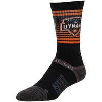 Houston Dynamo Exclusive Crew Socks - Black - OSFA
