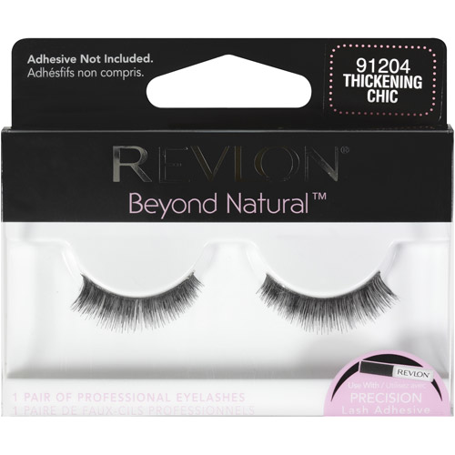 Revlon Beyond Natural Eyelashes, Thickening Chic, 1 pr