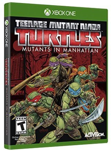 TMNT Mutants in Manhattan, Activision, Xbox One, 047875771413 by ACTIVISION CLASSICS