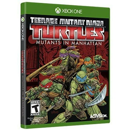 TMNT Mutants in Manhattan, Activision, Xbox One, (Ninja Tmnt Games)