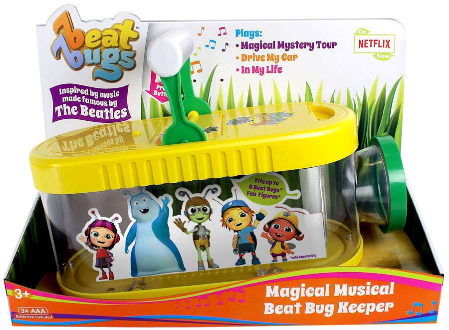 Beat Bugs Magical Musical Beat Bug Keeper Figure Case by
