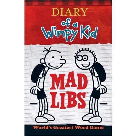 Diary of a Wimpy Kid Mad Libs (Paperback) - Mad Libs Halloween