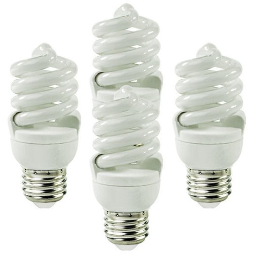 S6236 13 Watt T2 CFL 60 W Equal 4100K Cool White 82 CRI 800 Lumens 4 Pack By Satco by