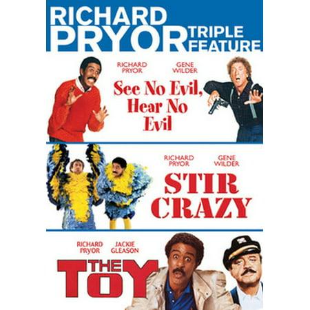 Richard Pryor Triple Feature (DVD) (Richard Pryor See No Evil Hear No Evil)