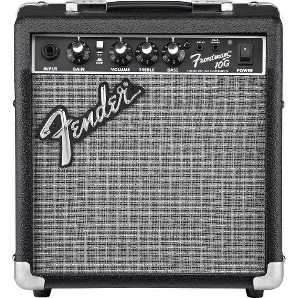 Fender Frontman 10G 10 Watt 1x6 Speaker Electric Guitar Practice Amplifier