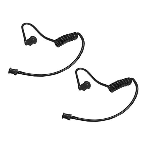 FBI Style Clear Twist On Replacement Acoustic Tube for Two-Way Radio Headsets