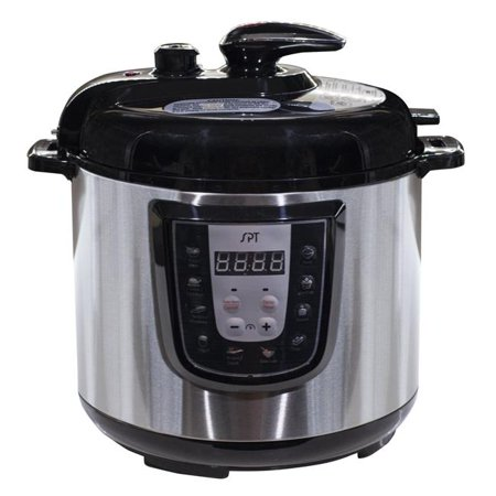 SPT EPC-14D 6 qt Electric Stainless Steel Pressure Cooker - image 1 of 1