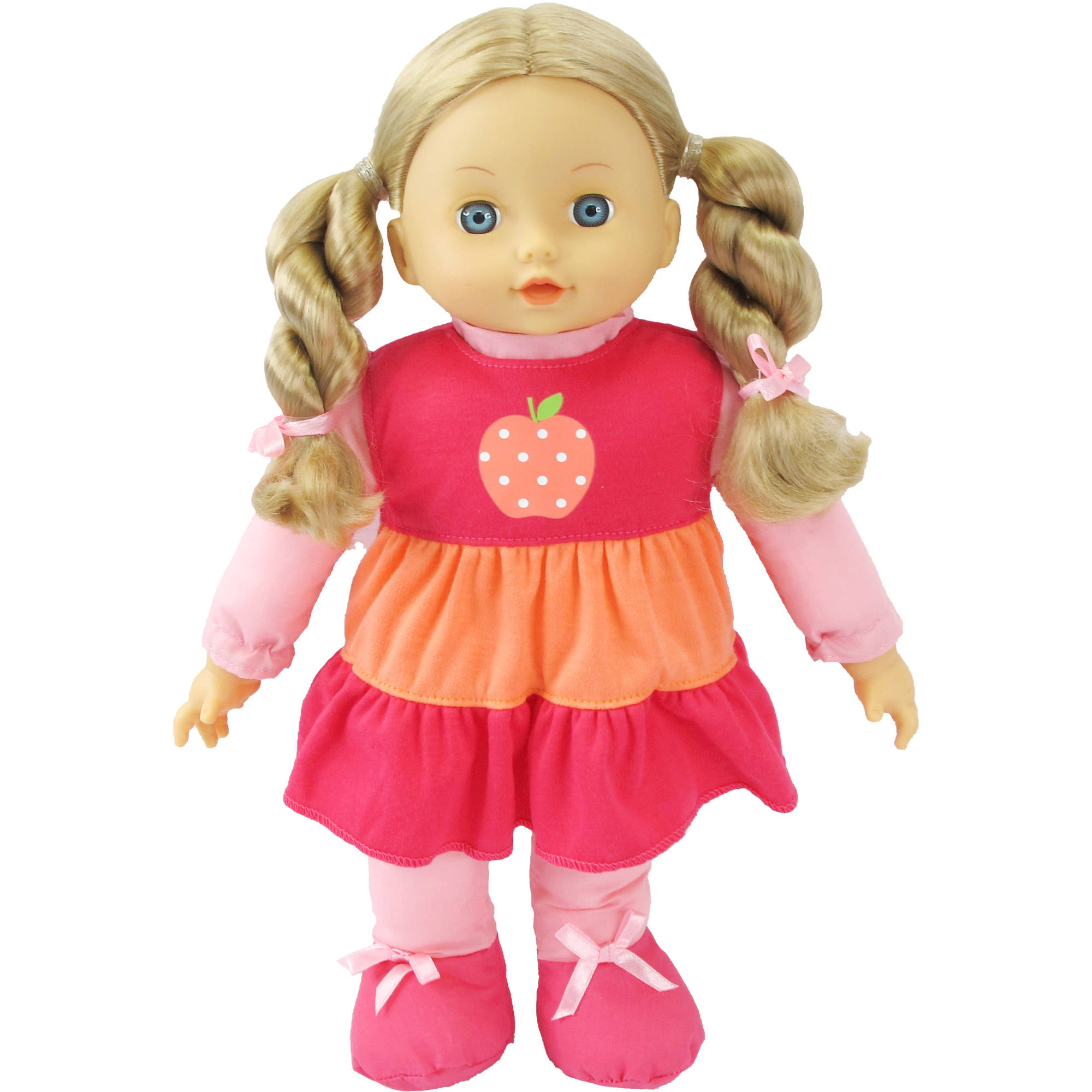 My Sweet Life Toddler Doll, Caucasian with Pink Outfit