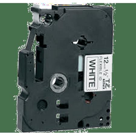 "Zoomtoner Compatible pour Brother PT300 BROTHER P-Touch Label Tape TZE-FX231 12mm (0.5"") Noir on White - image 1 de 1"