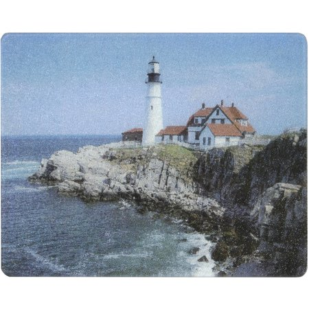 - Vance 15 X 12 inch Portland Lighthouse Surface Saver Tempered Glass Cutting Board, 81512PLH