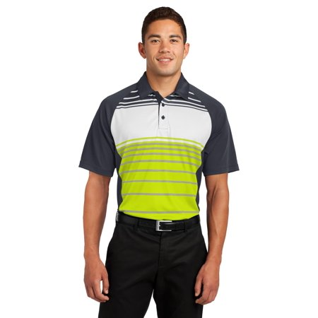Sport-Tek® Dry Zone® Sublimated Stripe Polo. St600 Citron 2Xl - image 1 of 1