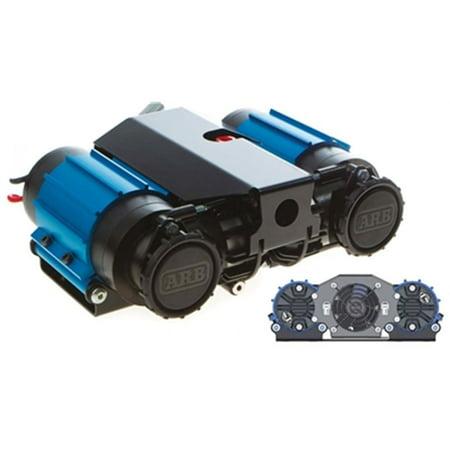 Arb Air Compressor (ARB CKMTA12 On-Board High Performance Air Locker 12 Volt Twin Air Compressor )