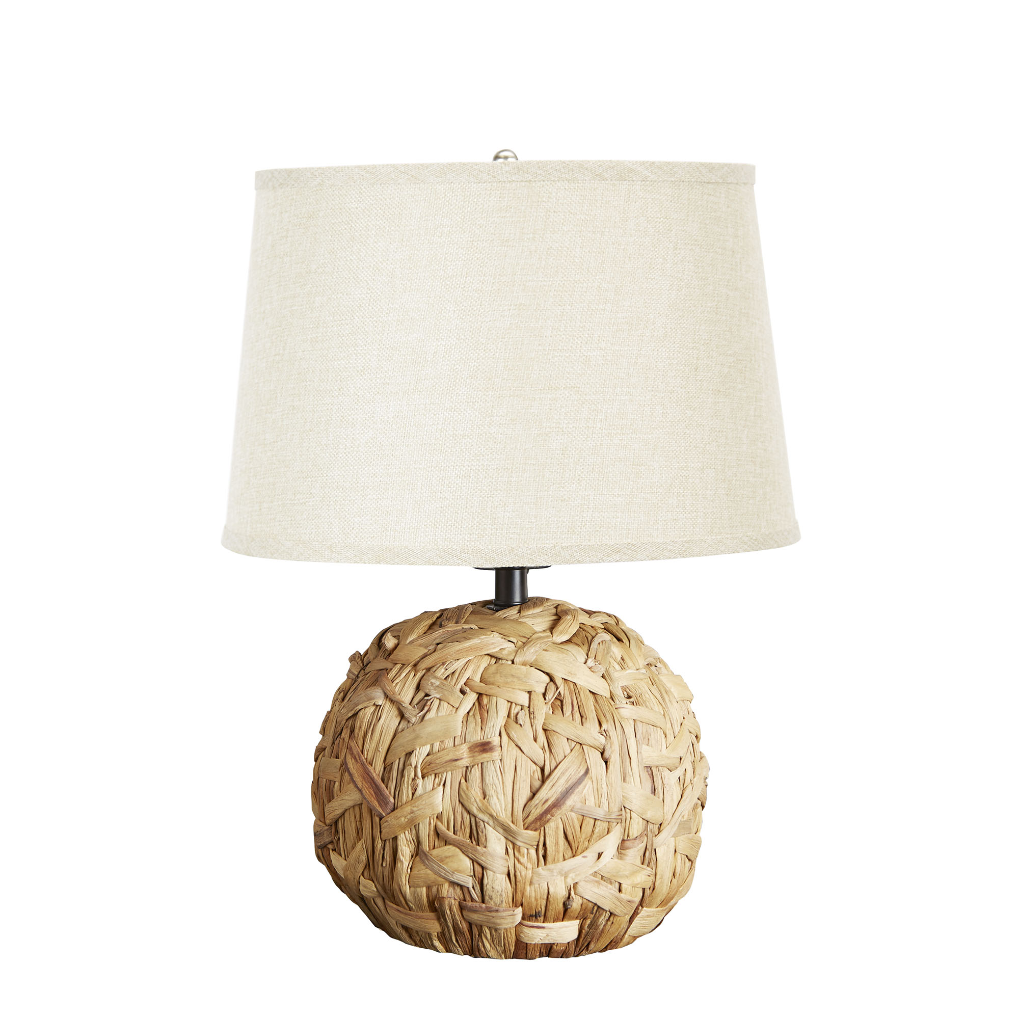 Better homes and gardens natural rattan table lamp base walmart geotapseo Gallery