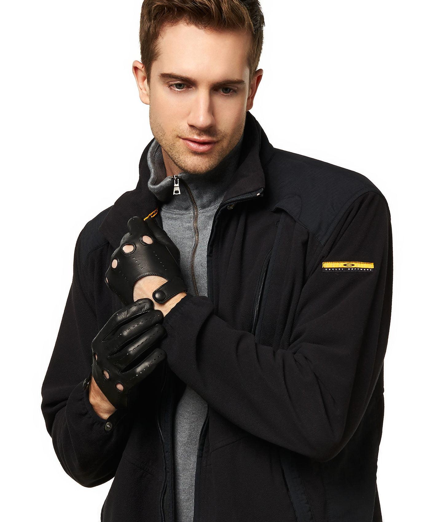 Driving gloves at walmart - Fratelli Orsini Everyday Men S Italian Lambskin Leather Driving Gloves Walmart Com
