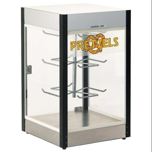 C. CRETORS AND COMPANY E1100 Pretzels Heated Display Case,1 Shelf