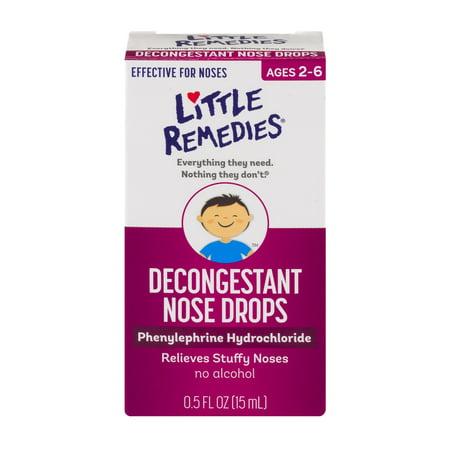 Little Remedies Decongestant Nose Drops