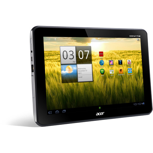 "Acer Iconia Tab A200-10G08U 10.1"" 1GHz 8GB Android 3.2 (Honeycomb) OS Titanium Gray"