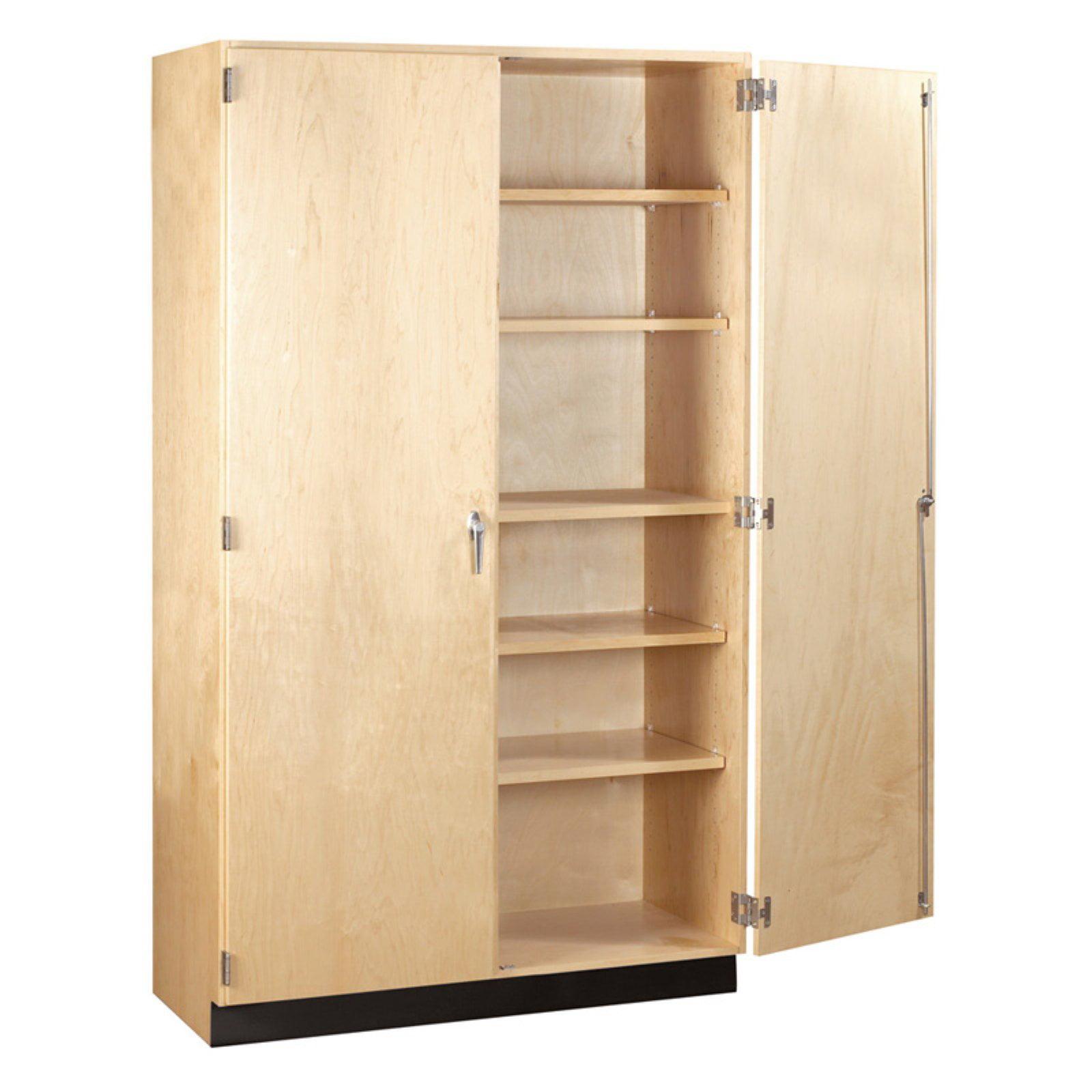 Diversified Woodcrafts General Double Door Storage Cabinet