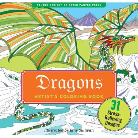 Dragons Adult Coloring Book - Halloween Coloring Games Online