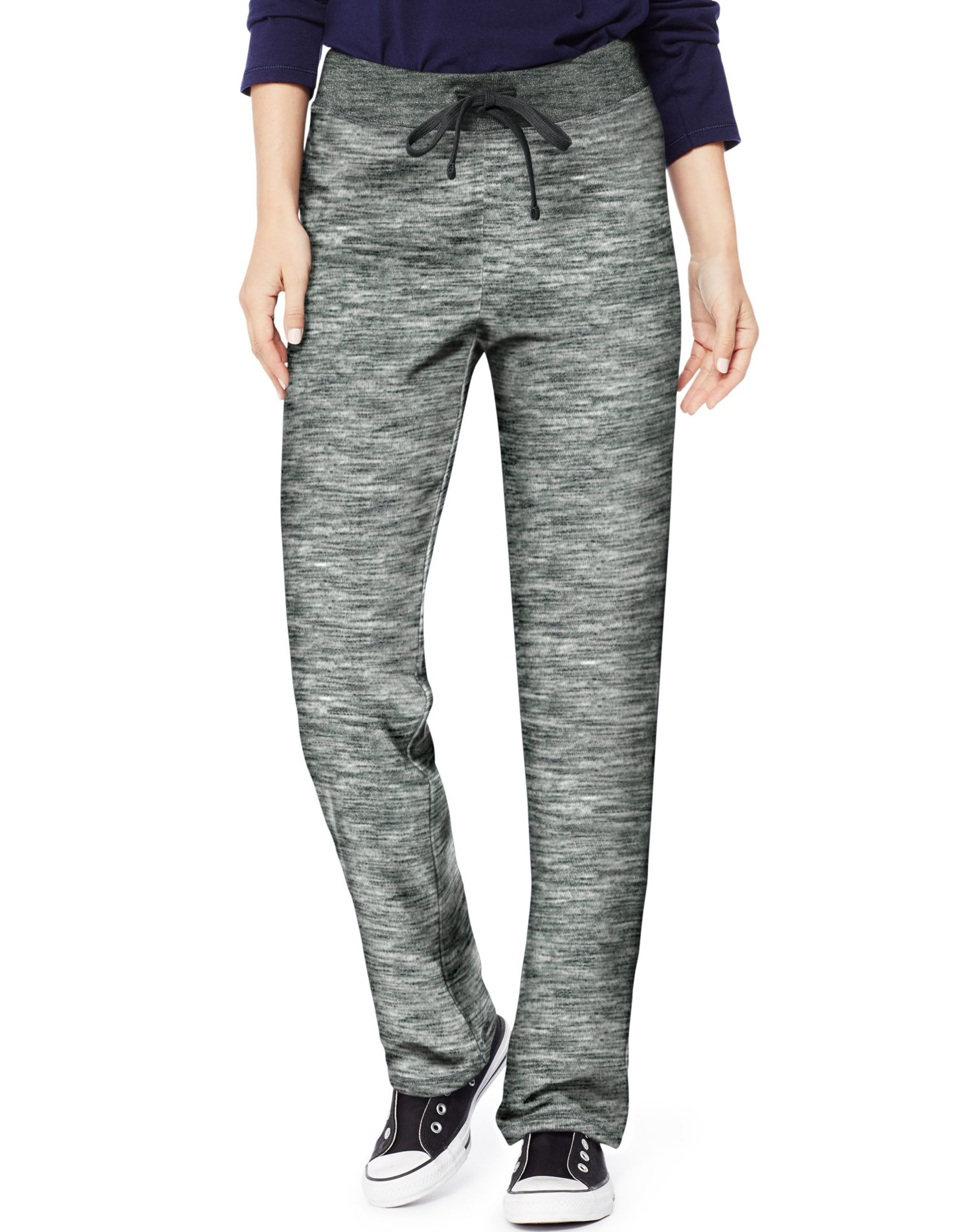 Women's French Terry Pant With Outside Drawcord