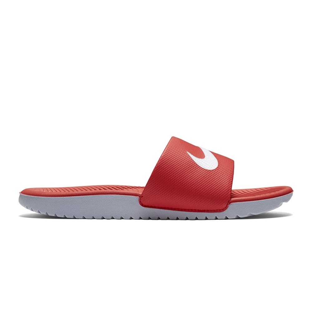 nike slippers red colour