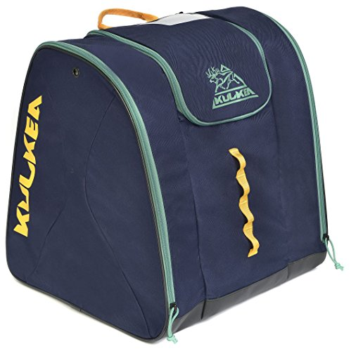 Kulkea Talvi Ski Boot Bag 2017 - Navy/Orange/Moss Green
