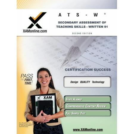Nystce Ats-W Secondary Assessment of Teaching Skills -Written 91 ...