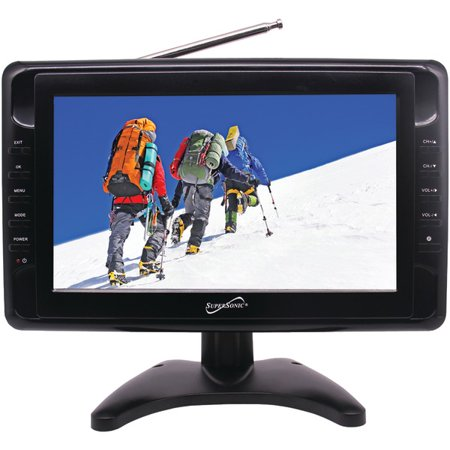 Supersonic SC-2810 10″ Portable LCD TV
