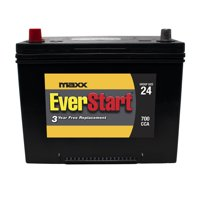 EverStart Maxx Lead Acid Automotive Battery, Group Size 24 (12 Volt/700 CCA)