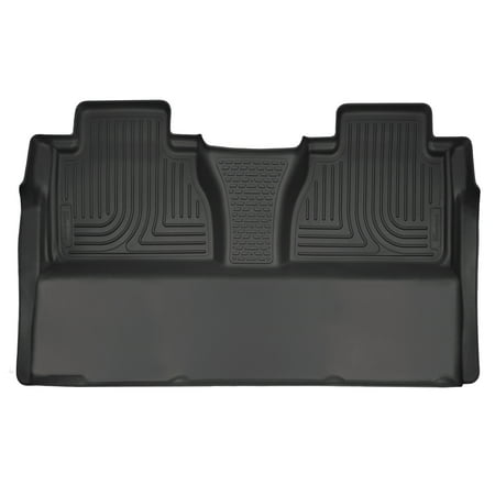 - Husky Liners 2nd Seat Floor Liner (Full Coverage) Fits 14-18 Tundra CrewMax Cab