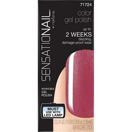 SensatioNail Gel Nail Polish with Manicure Stick, 71724 Love Bite, 0.25 fl oz](Halloween Gel Manicure)