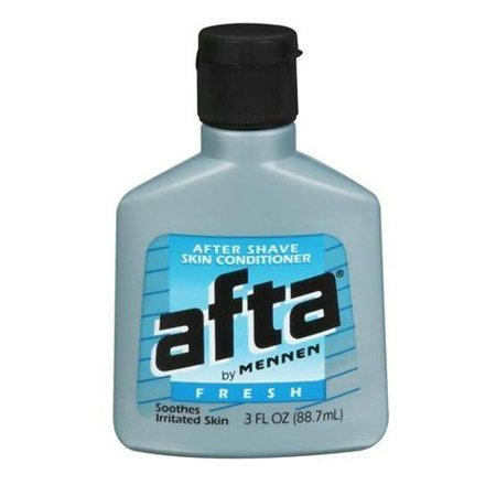 - Mennen Afta After Shave Skin Conditioner, Fresh, 3 Ounce