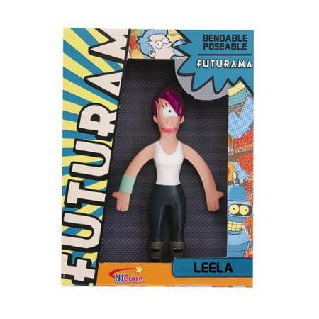 Futurama Leela Bendable Toy, She's got her eye on you! Add this fun Leela bendable figure to your Futurama collection! By NJ - Leela From Futurama