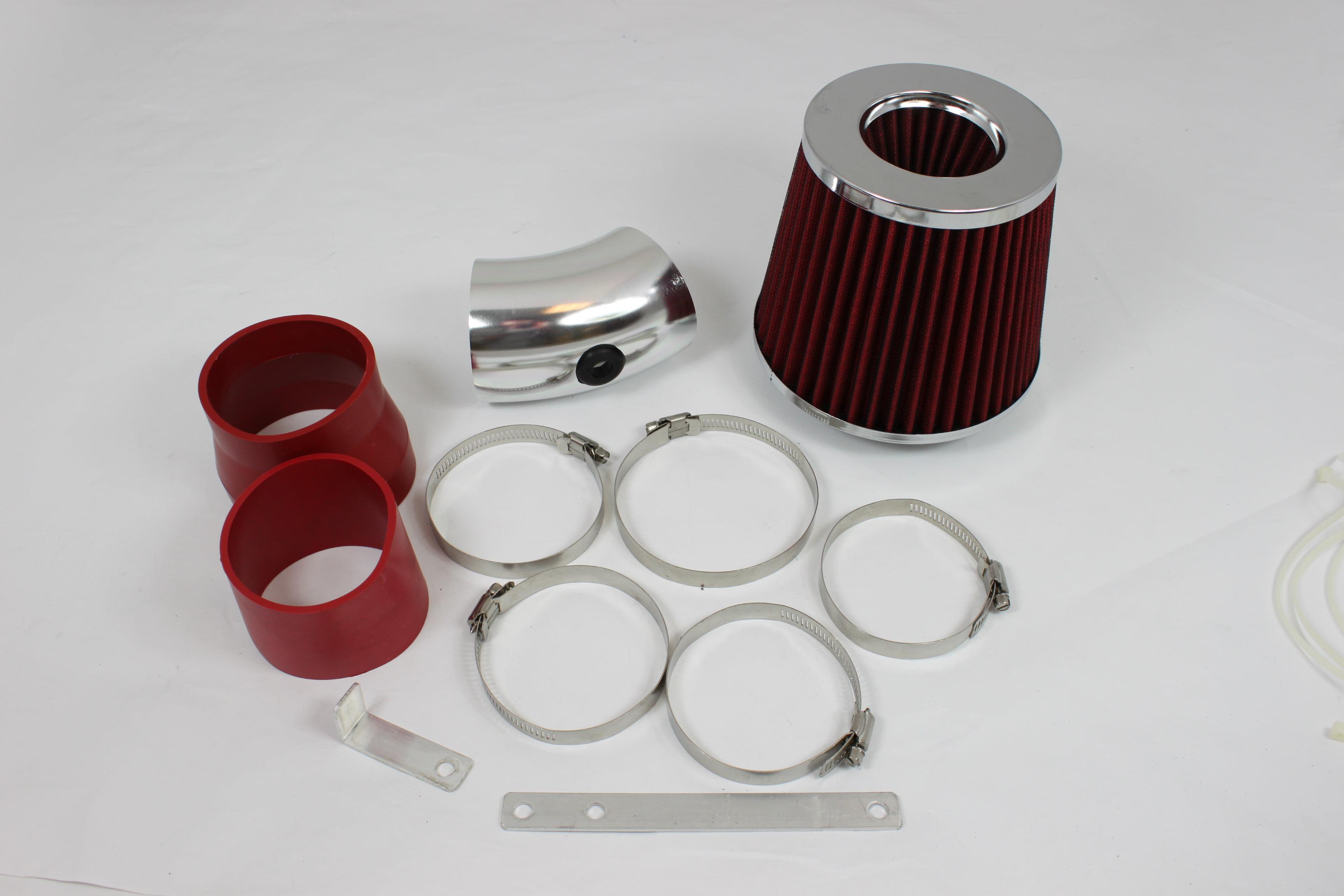 RED Filter for 90-94 Chevy Lumina 3.1L V6 Short Ram Air Intake Kit