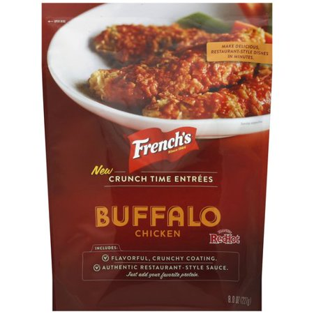 French's Crunch Time Entrees Buffalo Chicken, 8 oz (Frozen Appetizers)