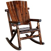 Char-Log TX93860 Rustic Single Rocker without Star