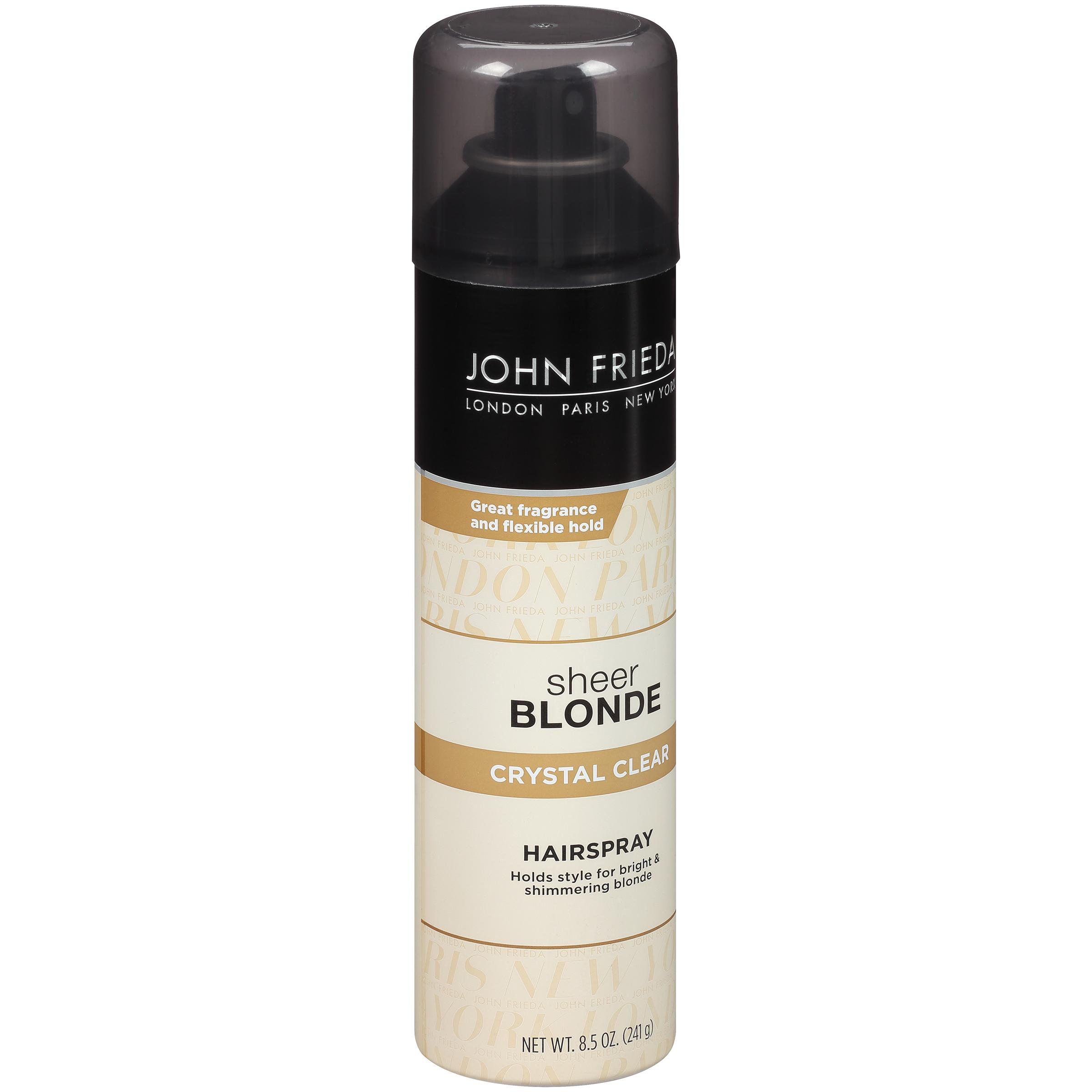 John Frieda Sheer Blonde Crystal Clear Hairspray 8.5 oz