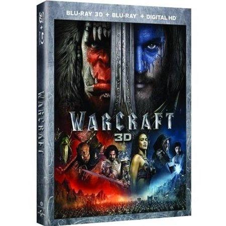 Warcraft  3D Blu Ray   Digital Hd