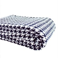 Melange Home Houndstooth Blanket