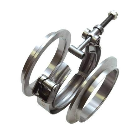 Vibrant Performance 11491M VIB11491M ALUMINUM V-BAND FLANGE FOR 3IN OD TUBING - (Aluminum V-band Flange)