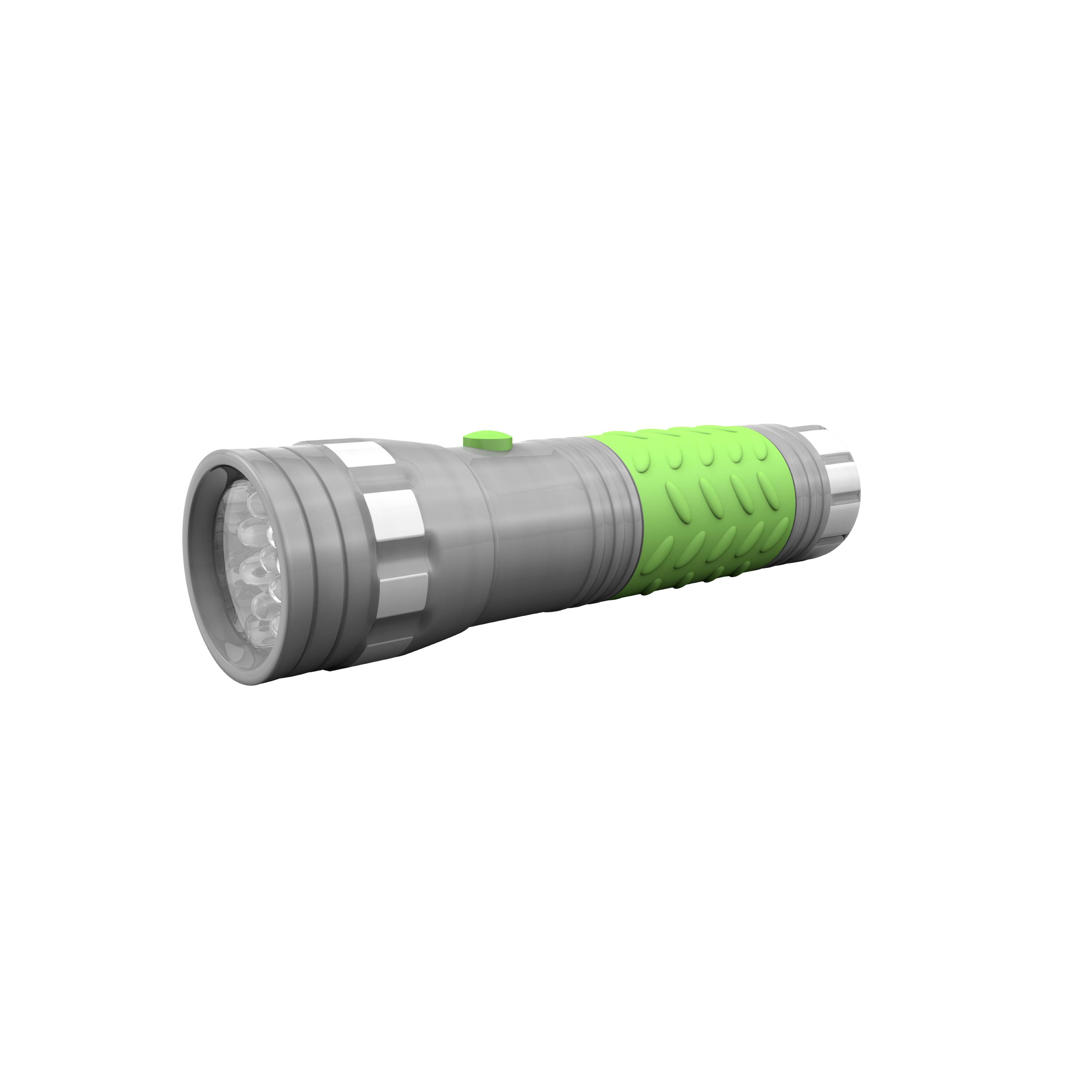 Rayovac Brite Essentials 3AAA LED Glow In The Dark Flashlight (colors vary: green, pink, blue, gray) BRS14LED-BA by Rayovac