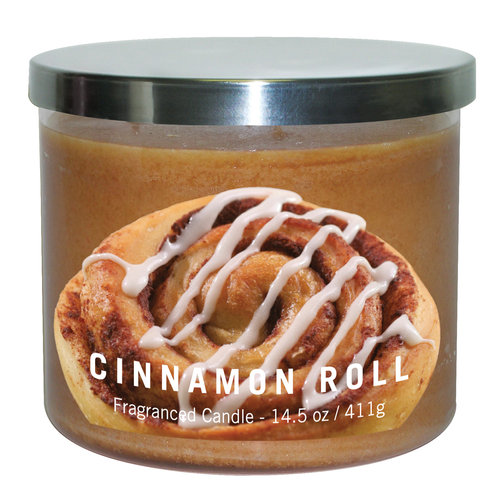 Cinnamon Roll Candle Jar