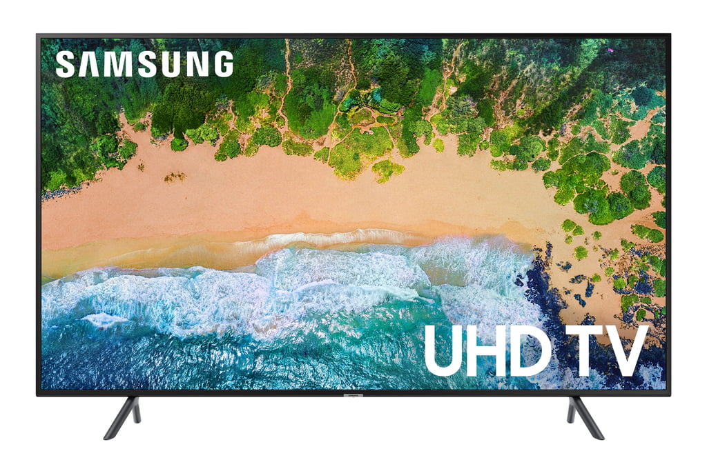 "Samsung 55"" Smart UHD TV - Black (UN55NU7100)"