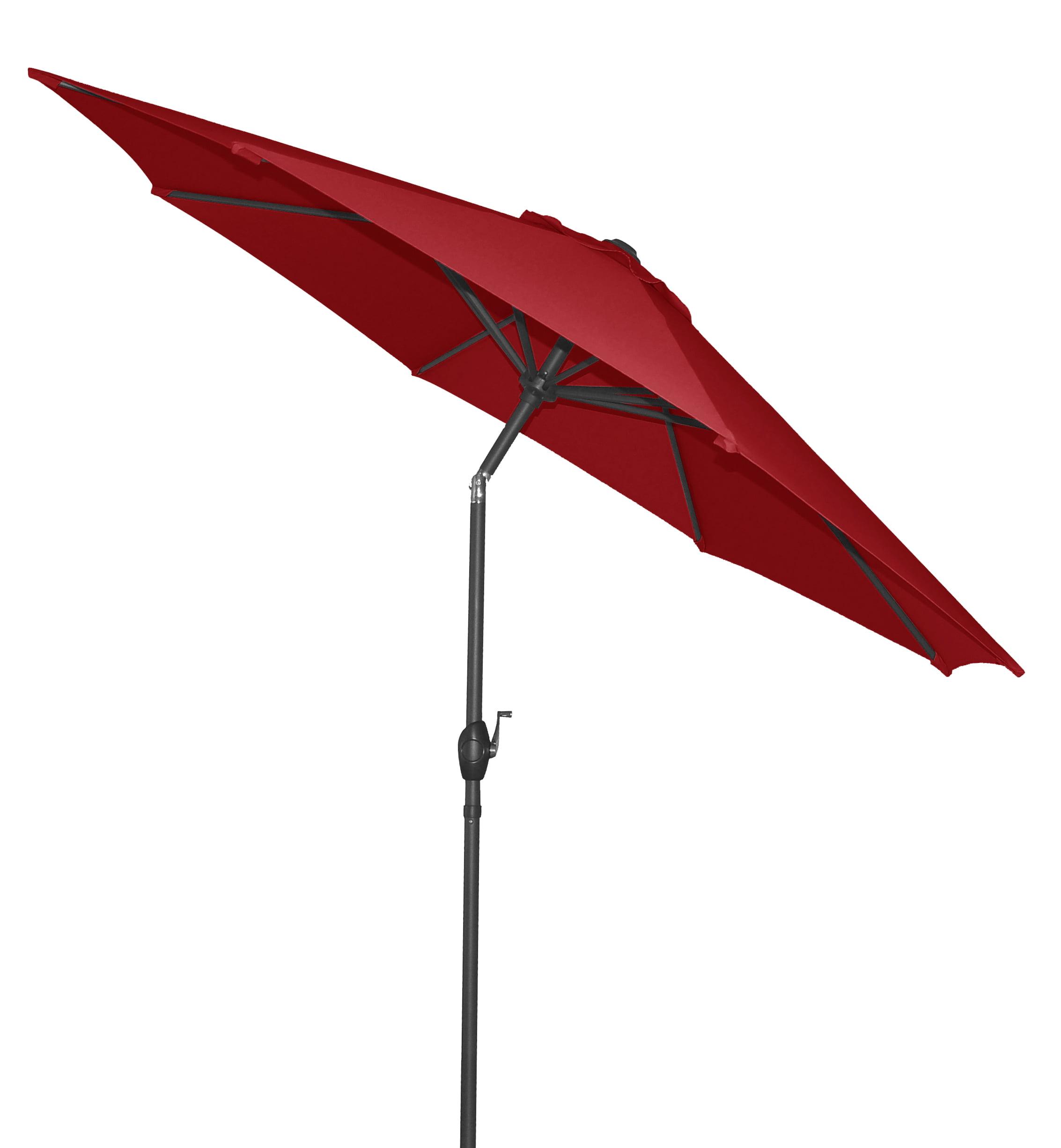 Mainstays 9' Outdoor Market Umbrella- Really Red