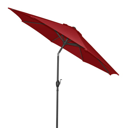 Mainstays 9' Outdoor Market Umbrella- Really Red