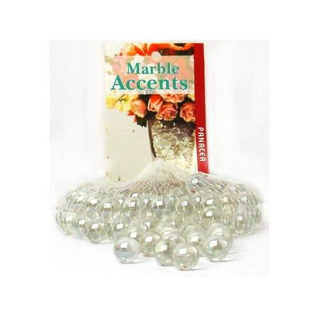 Panacea Decorative Glass Marbles Lustre Clr 100pc - Decorative Marbles