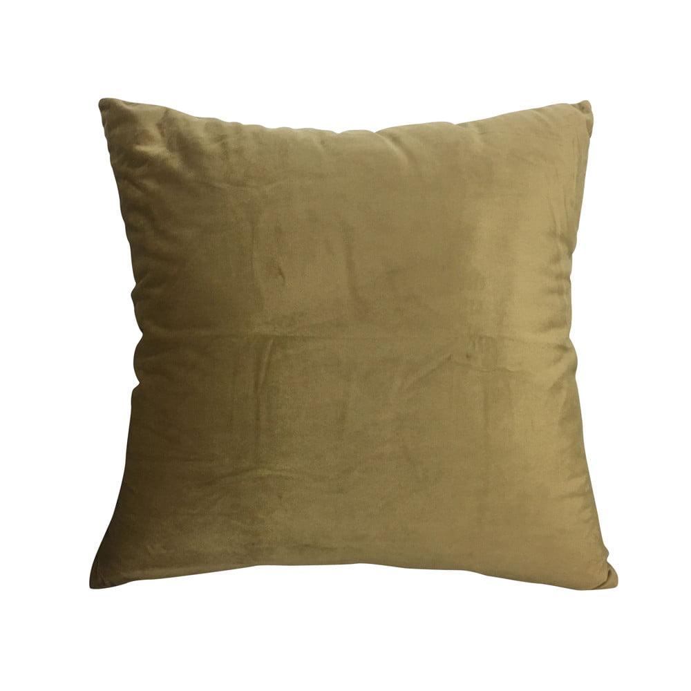 Velvet Soft Decorative Square Pillow Covers Cushion Case For Sofa Bedroom60x60cm