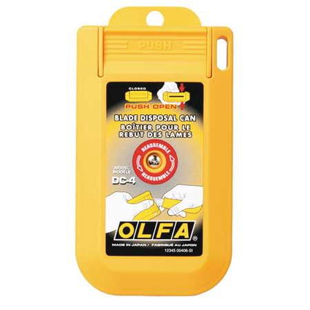 Olfa Blade Disposal Case, DC-4