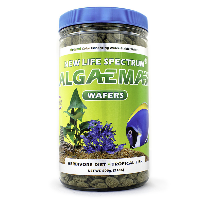 New Life Spectrum AlgaeMax Tropical Fish Food Wafers